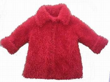 Вязание спицами для детей. Вязаное детское пальто из пряжи травка.
