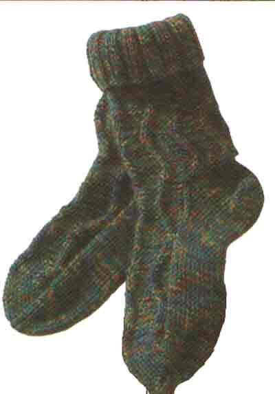 вязание носков детских
