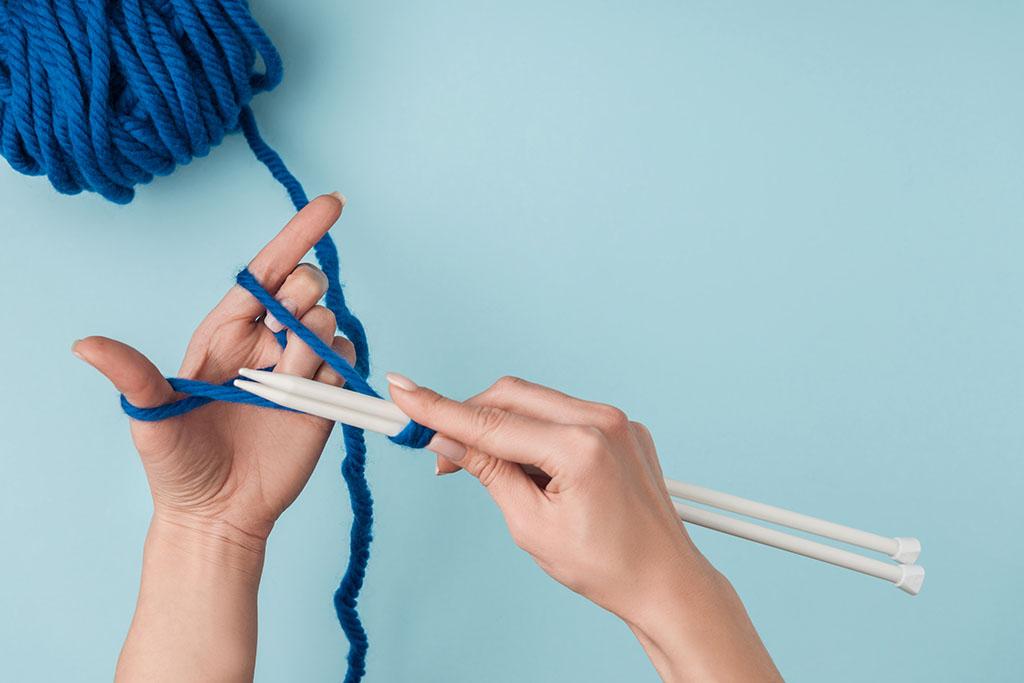 уроки вязания